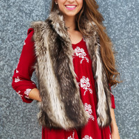 Hollywood Vibe Fur Vest