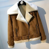 Women Automotive Fur Jacket and Coats European Style Woman Fur Coats Spring Women Bape Clothing Fur Overcoat High Quality C1737