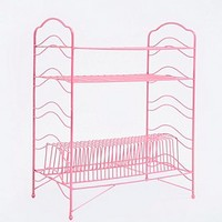 Large Record Stand in Pink - Urban Outfitters