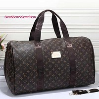 Tagre LV Women Leather Multicolor Luggage Travel Bags Tote Handbag