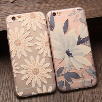 Chrysanthemum Floral iPhone 7 7 Plus & iPhone 6 6s Plus & iPhone 5s se Case Personal Tailor Cover + Gift Box-475