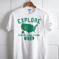 Tailgate Men's Explore National Parks T-Shirt, White