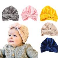 Lawadka Hat Baby Winter Warm Pleuche Hat for Girls Fashion Caps for Boys Baby Clothes Accessories Newborn Photography