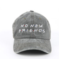 The Friends Dad Hat in Olive Mineral