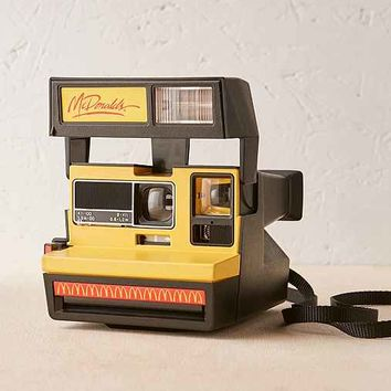 Impossible Project McDonald's Rare Polaroid Camera