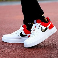 Nike Air Force 1'07 LV8 1HO19 NBA Fashion New Hook Women Men Sports Leisure Running Shoes