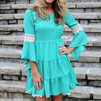 Oh My Darling Dress Mint