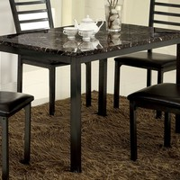 Terra Transitional 48-inch Dining Table