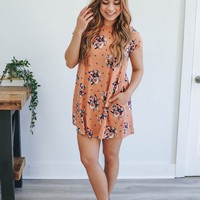 Fond of Floral Dress