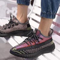 Adidas Yeezy Boost 350 V2 Yecheil Non-Reflective Sneakers Shoes