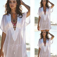 Women Chiffon Cover Up for swimsuit