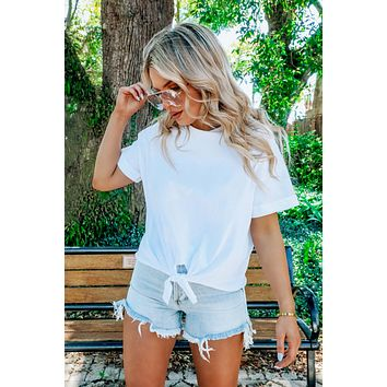 Clearly Stated Top: White