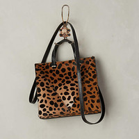 Spotted Calf Hair Tote