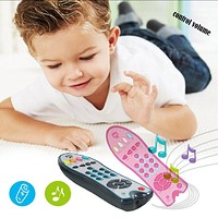 Baby Remote Control Toy Learning Light Remote for Baby Click Count Remote Toys for Boy Girl Baby Infant Toddler Toy dropshipping
