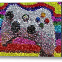 Framed Incredible XBOX 360 Controller 9X11 inch Limited Edition Art Print w/COA