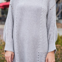 By My Side Sweater, Gray