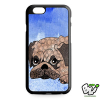 Painting Pug iPhone 6 Case | iPhone 6S Case