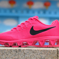 """NIKE"" weave breathable mesh running shoes couple shoes Roses"
