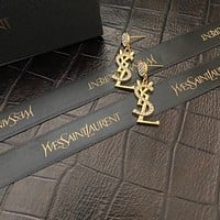 YSL Woman Fashion Accessories Fine Jewelry Ring & Chain Necklace & Earrings 0702