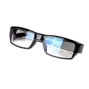 No Hole Hidden Clear Lens Reading Eyeglasses Spy Camera DVR