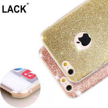 Luxury Glitter Bling Candy Cases For iPhone 7 Case For iphone7 Plus 6 6S Plus 5 5S SE Phone Cases Crystal Soft Back Cover Capa