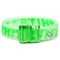 Industrial Neon Green Adjustable Belt by OFF-WHITE