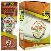Twisted Hemp Wraps Endless Summer Flavor (60 wraps)