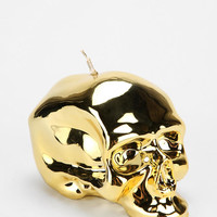 Metallic Skull Candle - Urban Outfitters