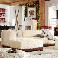 Cushy Lounge Super Sectional Set + Base