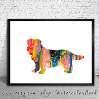 Norfolk Terrier Watercolor Print, dog watercolor,watercolor painting, Norfolk Terrier art, Norfolk Terrier poster, dog Illustration, dog art