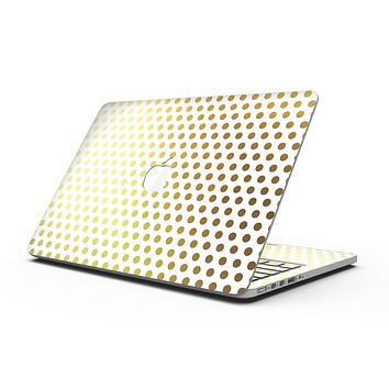 The All Over Golden Dot Pattern - MacBook Pro with Retina Display Full-Coverage Skin Kit