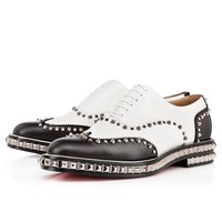 Bolly Saf Flat White Leather