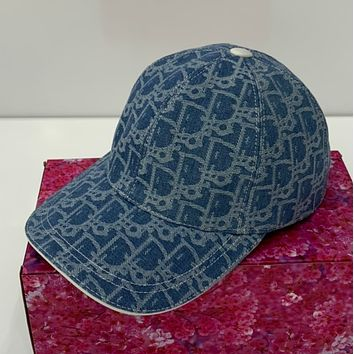 DIOR Embroidered duck tongue hat