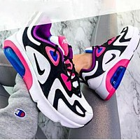 Nike Air Max 200 Fashion Women Leisure Air Cushion Running Sport Shoes Sneakers