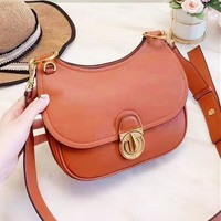 Tory Burch Newest Fashion Women Shopping Bag Shoulder Bag Crossbody Satchel Brown