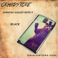 Hello Bear For Samsung Galaxy Note 3 Case Gift Present - Multiple Choice Material