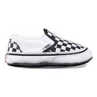 Vans Infant Checkerboard Slip-On (Black/True White)