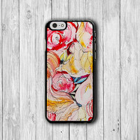 Bloom Flower Colour Floral Phone Cases, Colorful Phone 6 Cover, iPhone 6 Plus, iPhone 5 Hard Case, Soft Silicon, Plastic Accessory Woman