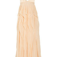Thakoon Ruffled silk-chiffon dress - 65% Off Now at THE OUTNET