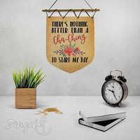 Crafty mom gift Etsy seller gift Small Business studio wall decor Motivational Wall Art Quote Inspirational quote for etsy seller Cha-ching