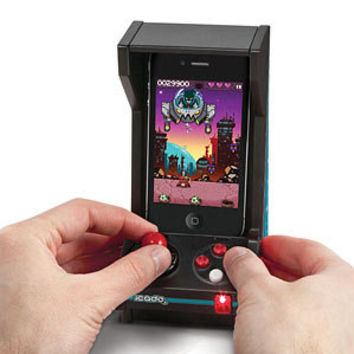 iCade Jr. Mini Arcade Cabinet for iPhone