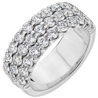 Ben Garelick Royal Celebrations Majesty Three Row Diamond Ring