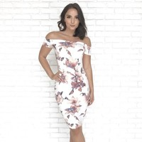 Love to be Loved Midi Floral Dress