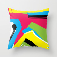 Abstract 1  Throw Pillow by PoseManikin