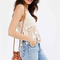 Will Leather Goods Festival Mini Bucket Bag- Assorted One