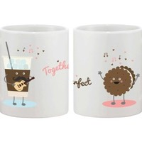 Together We Are Perfect Couple Mug Set