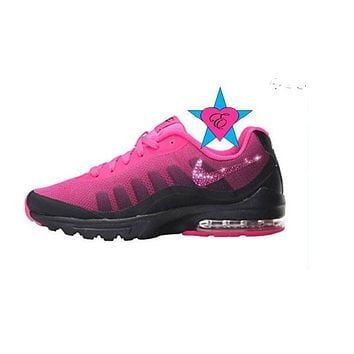 Bling Women's Nike Air Max Invigor Print Athletic Sneakers