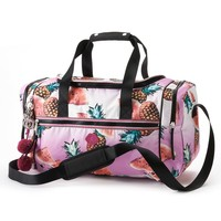 Juicy Couture Mix Master Watermelon & Pineapple Duffle Bag (Pink)