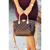 LV Louis Vuitton High Quality Women Shopping Bag Leather Tote Handbag Satchel Bag