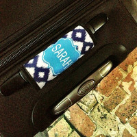Personalized Luggage Tag Finder / Monogrammed Luggage Tag